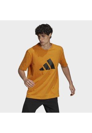 FUTURE ICONS - Print T-shirt - focus orange