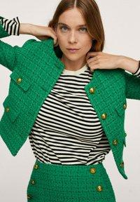 Mango - WINTOUR - A-line skirt - groen - 0