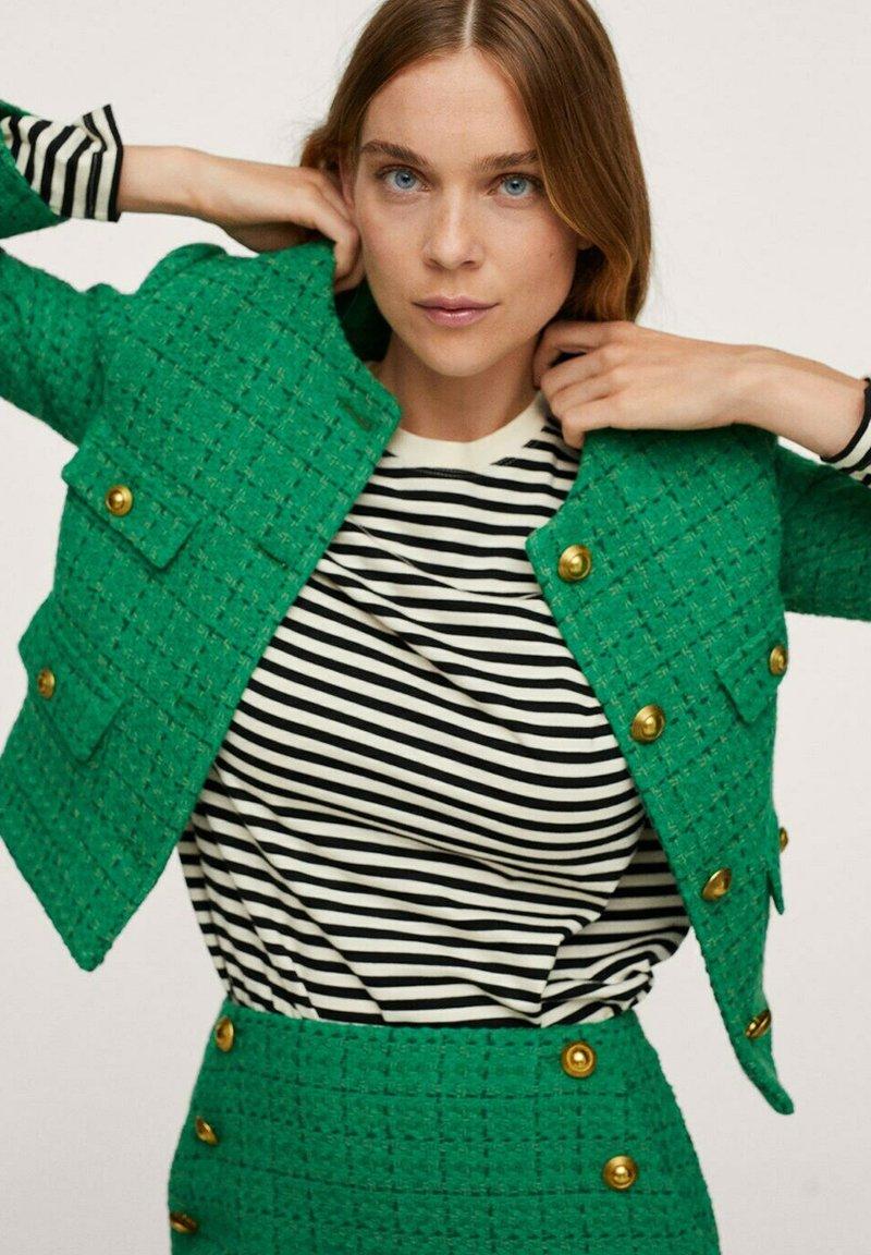 Mango - WINTOUR - A-line skirt - groen