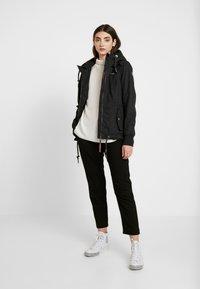 Ragwear - DANKA - Kort kåpe / frakk - black - 1