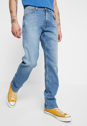 GREENSBORO - Jeansy Straight Leg - mid summer blue