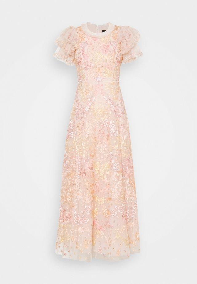ELIN BLOSSOM ANKLE GOWN - Vestido de fiesta - strawberry icing