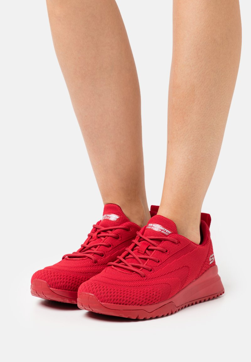 Skechers Sport - BOBS SQUAD 3 - Zapatillas - red engineered