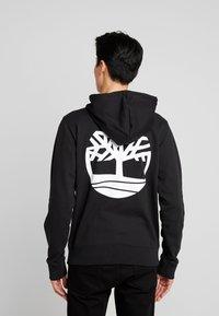 Timberland - ZIP HOODIE - Zip-up hoodie - black - 0