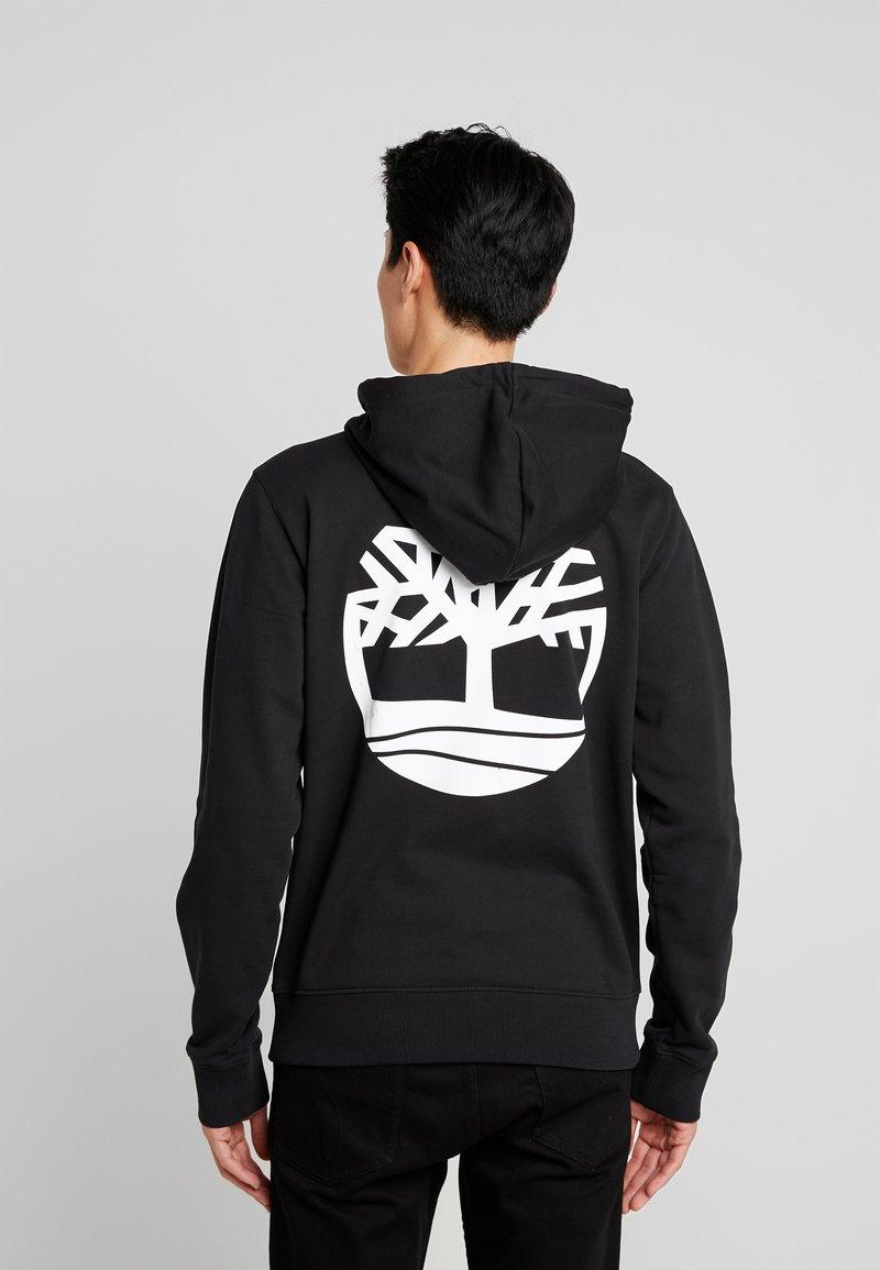 Timberland - ZIP HOODIE - Zip-up hoodie - black