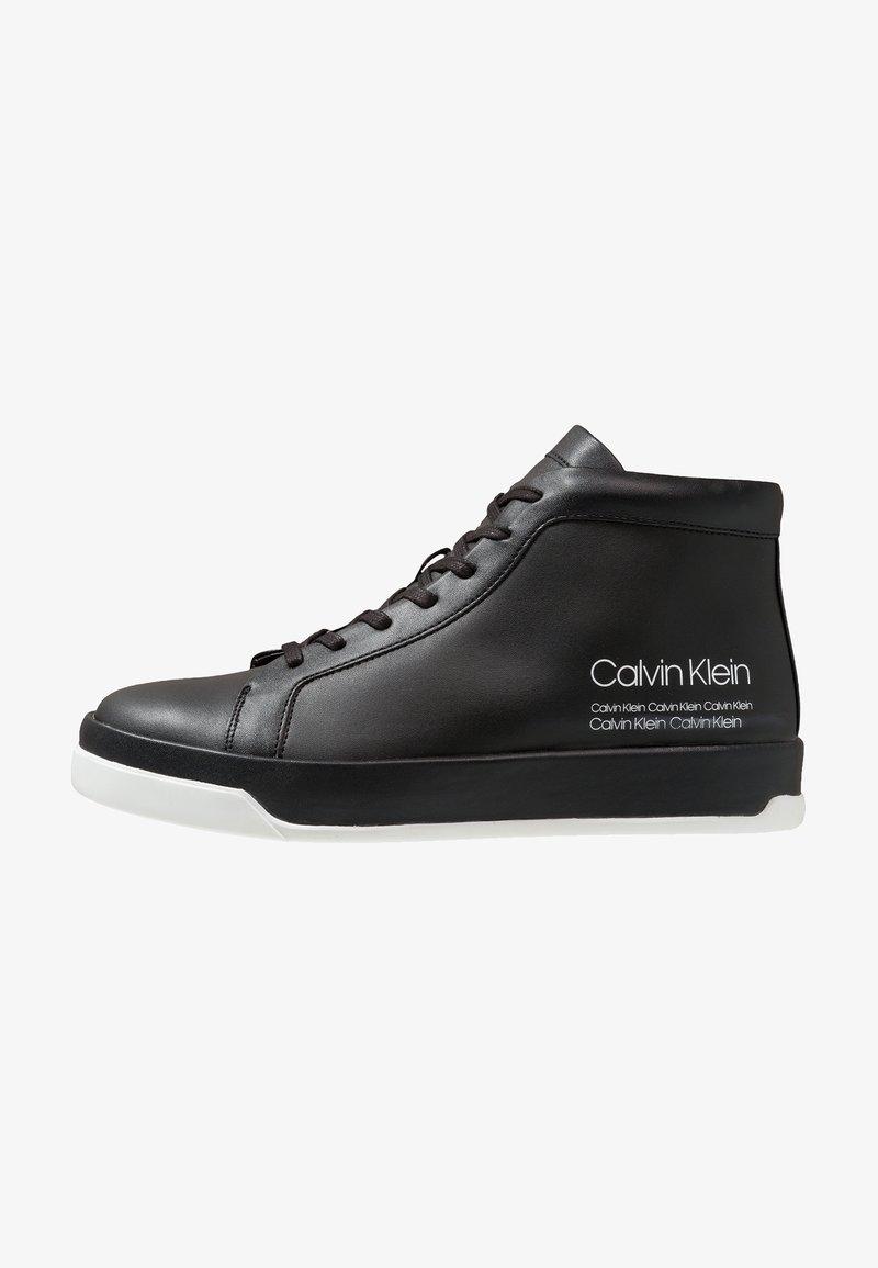 Calvin Klein - FERGUSTO - High-top trainers - black