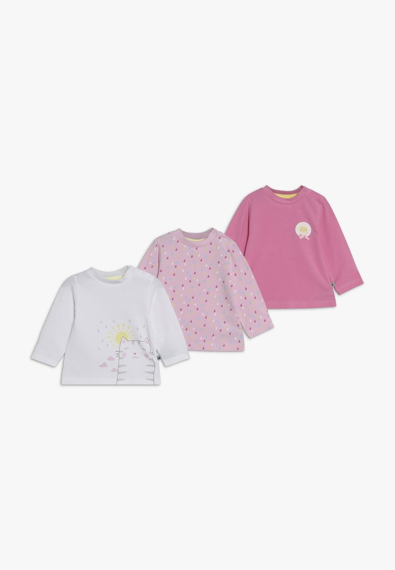 Jacky Baby - PACKCOME RAIN OR SHINE 3 PACK - T-shirt à manches longues - light pink