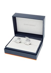 DAVIDOFF - TRACES - Cufflinks - silver coloured