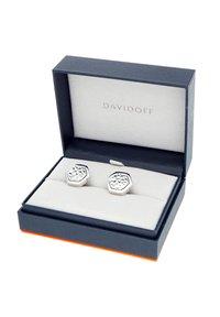 DAVIDOFF - TRACES - Cufflinks - silver coloured - 2