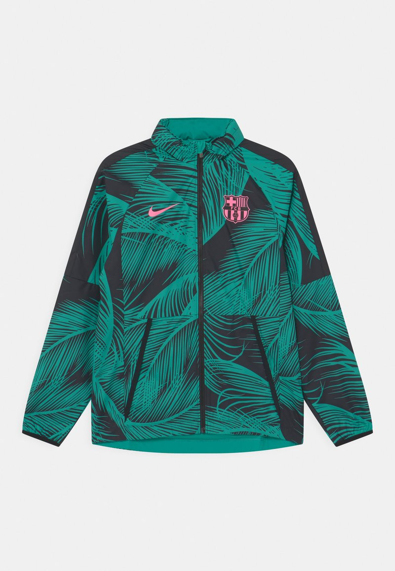 Nike Performance - FC BARCELONA UNISEX - Club wear - new green/black/pink beam