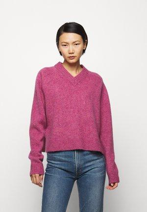 LEONARDO - Sweter - pink violet