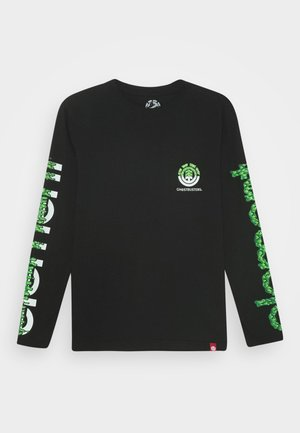 GHOSTBUSTERS X ELEMENT PROTON COMBO BOY - Long sleeved top - flint black