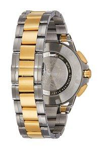 Versace Watches - SPORT TECH - Chronograph watch - gold-coloured/gun - 2