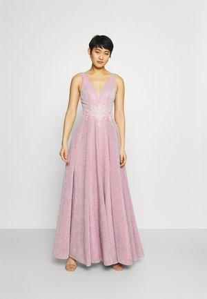 Společenské šaty - ice pink