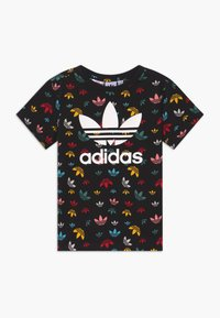 adidas Originals - T-shirt med print - black/multicolour/white - 0
