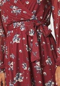 Anna Field - Day dress - dark red - 5