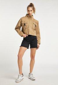 myMo - Summer jacket - dunkelsand - 1