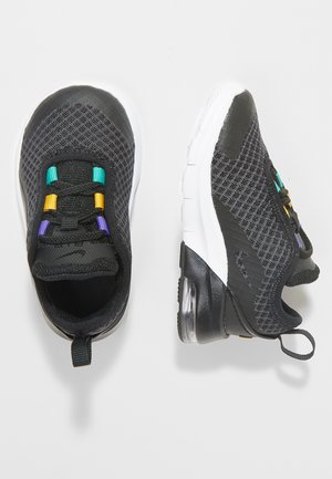 Trainers - black/flash crimson/gold/psychic purple