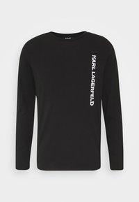 CREWNECK - Long sleeved top - black