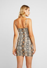 Honey Punch - TANK DRESS - Vestito di maglina - snake - 2