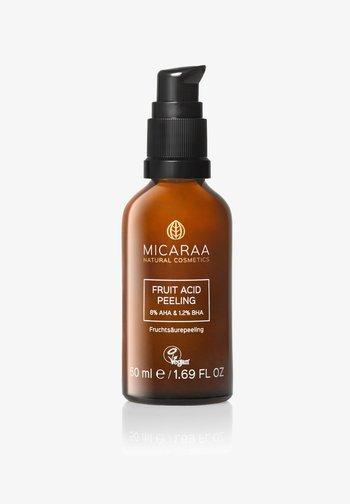 FRUIT ACID PEELING - Face oil - mit aha und bha