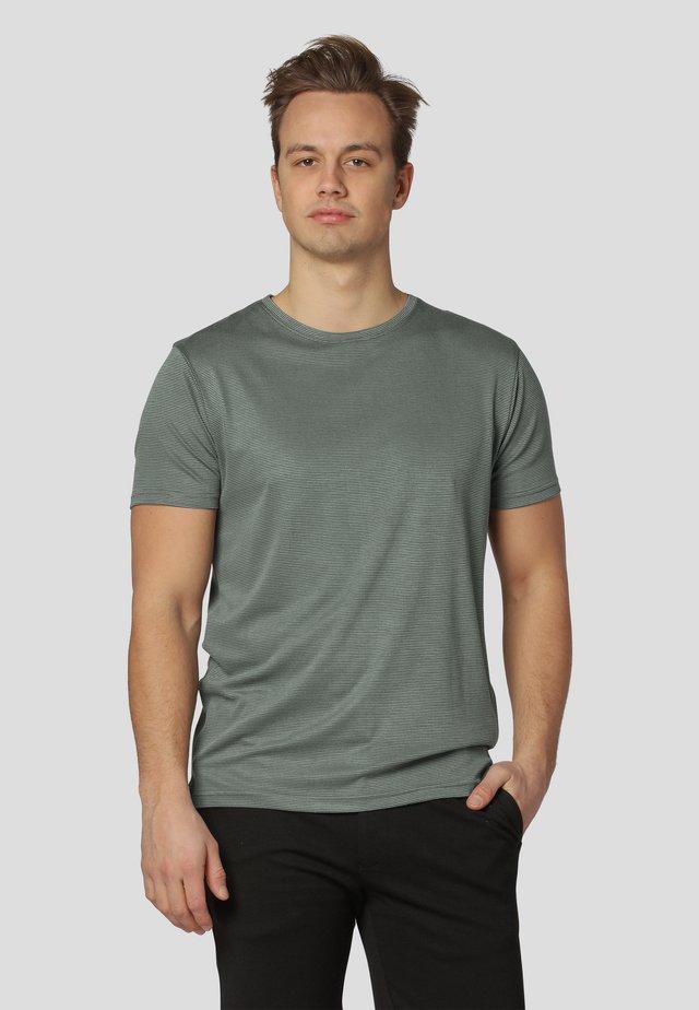 Print T-shirt - agave green
