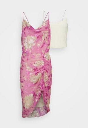 DAPPLES DRESS - Top - pink kirigami