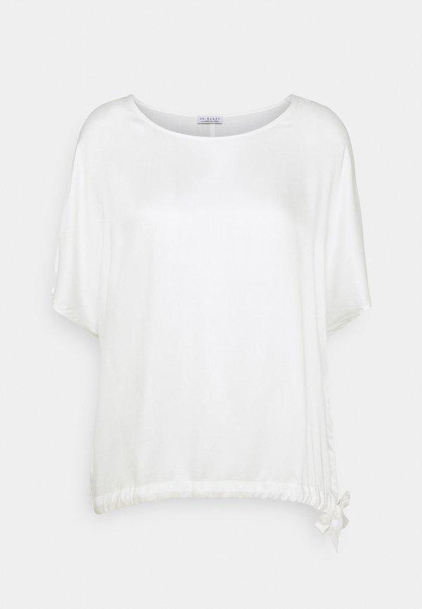 Re.draft BLOUSE - Bluzka - wool white/biały YOVE