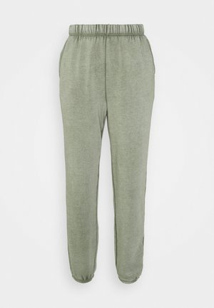 HIGH RISE JOGGER - Tracksuit bottoms - olive fun