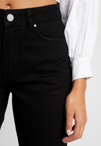 Lost Ink - SLIM MOM  - Jeans slim fit - black denim - 4