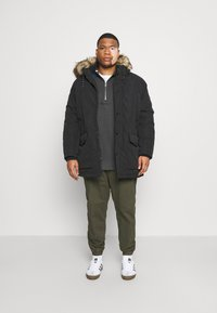 Jack & Jones - JJSKY JACKET - Winter coat - black
