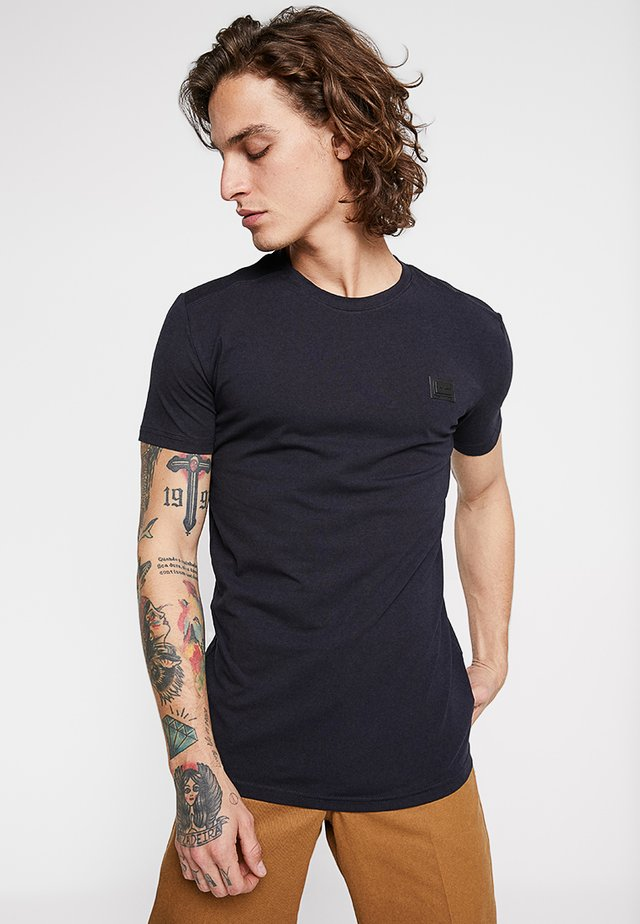 Jednoduché triko - blu notte