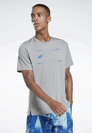 ACTIVCHILL MOVE T-SHIRT - T-shirt med print - grey