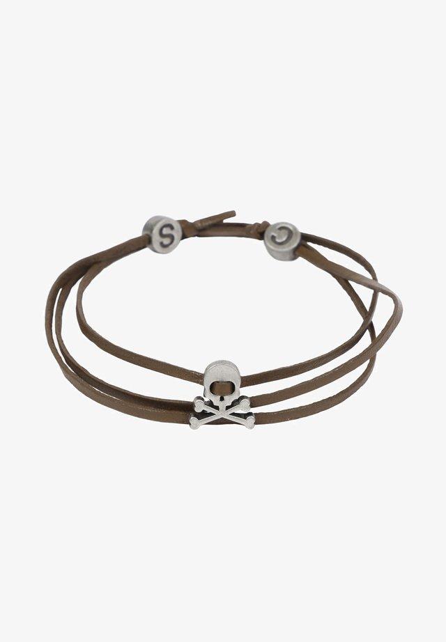 SKULL   - Bracelet - khaki