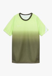 Nike Performance - DRY ACADEMY  - Sports shirt - ghost green/white - 0
