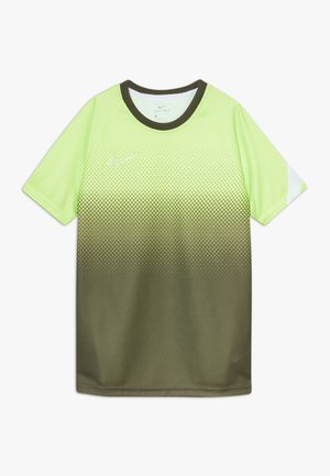 DRY ACADEMY  - Sports shirt - ghost green/white