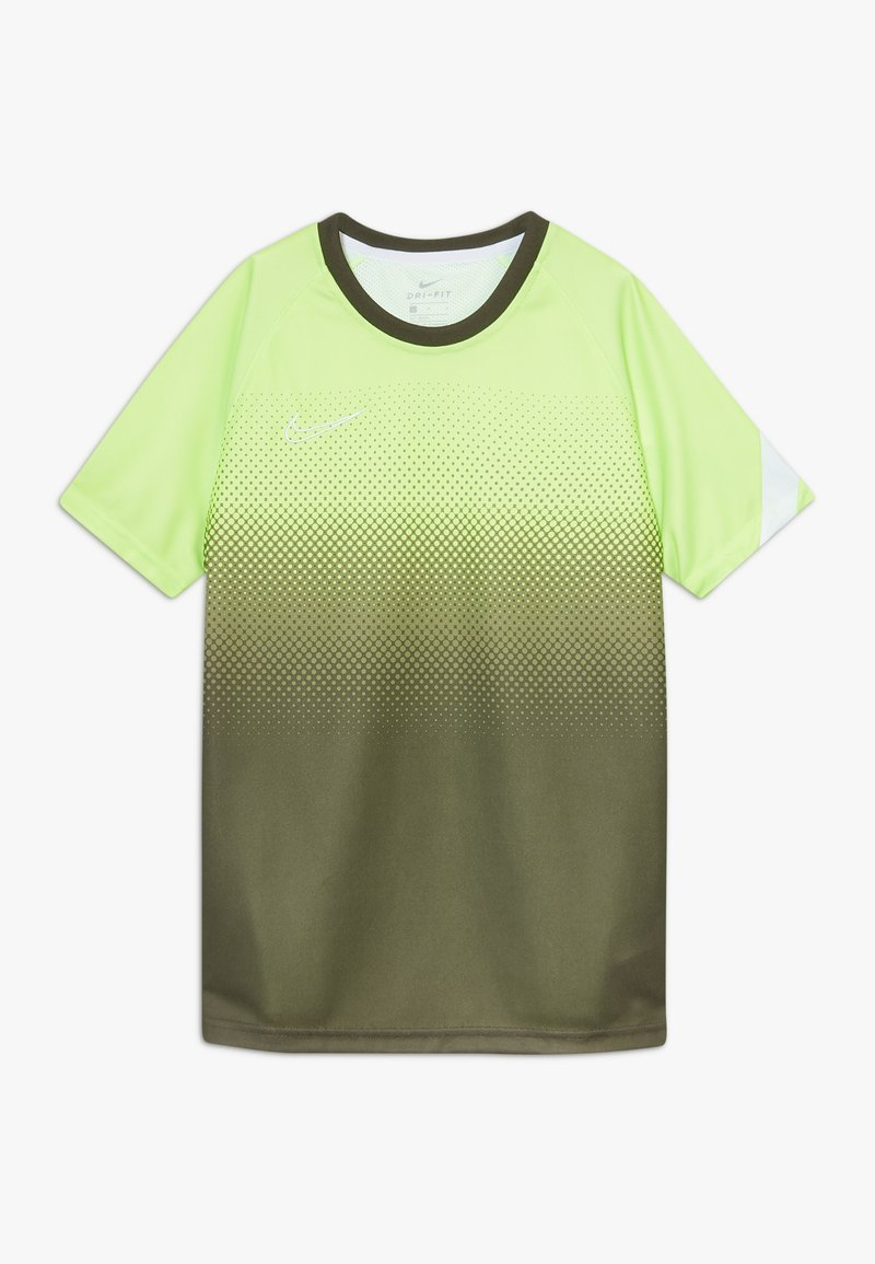 Nike Performance - DRY ACADEMY  - Sports shirt - ghost green/white