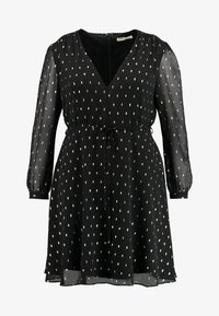 Glamorous Curve - Day dress - black/gold - 5