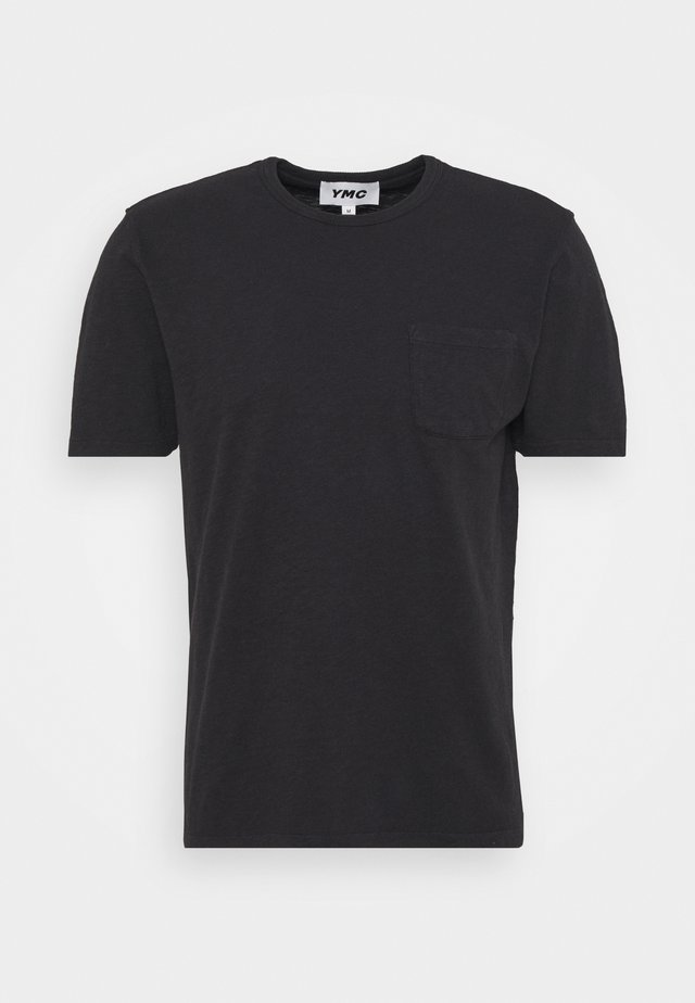 WILD ONES POCKET - Basic T-shirt - black
