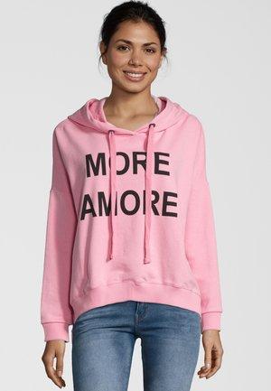 MORE AMORE - Hoodie - pink