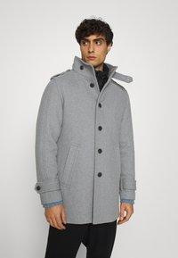 Selected Homme - SLHNOAH COAT  - Mantel - grey melange - 0