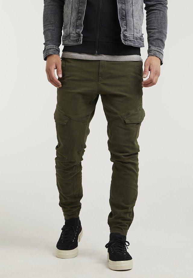 NERO.L SUMMIT - Cargo trousers - green