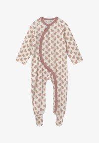 Sense Organics - VALO BABY WRAP GROWSUIT - Pyjama - pink - 2