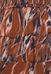 YAS - YASASTEA SKIRT - Mini skirt - brown - 6