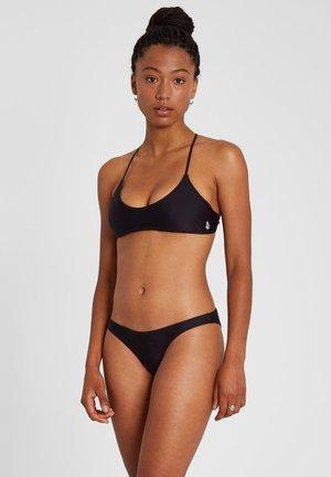 SIMPLY SOLID SCOOP - Bikini top - black