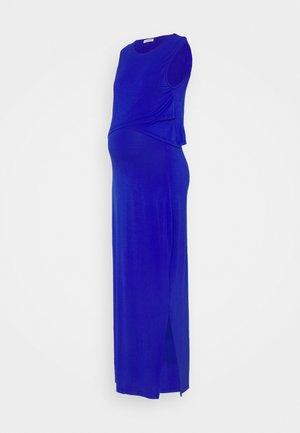 NURSING DRESS - Maxi-jurk - cobalt