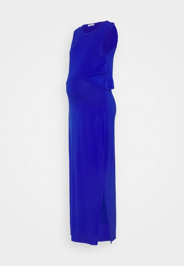 NURSING DRESS - Maxi dress - cobalt