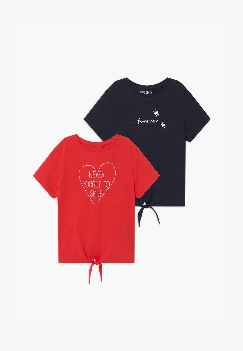 Blue Seven - TEEN GIRL 2 PACK - Print T-shirt - multi-coloured