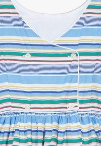 Polo Ralph Lauren - BUTTON  DRESSES - Denní šaty - blue - 4