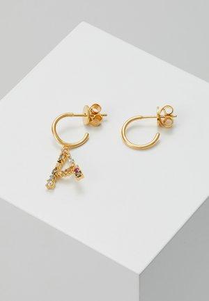 E EARRING - Náušnice - gold-coloured